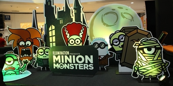 Monster Minions Invade SM Supermalls Halloween 2019