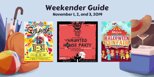 Weekender Guide: November 1, 2, and 3, 2019