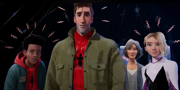 LOOK: 'Spider-Man Into The Spider-Verse' Teases Sequel