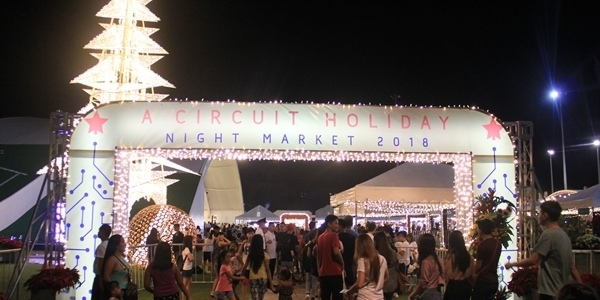 Spend Your Early Christmas Shopping at The Circuit Holiday Night Market