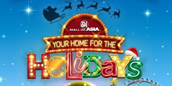 SM Mall of Asia To Launch Their Biggest Holiday Spectacle This Month!