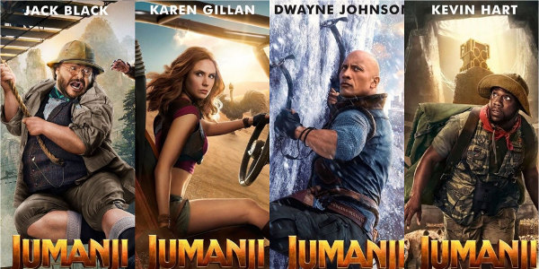 Choose Your Player: 'Jumanji The Next Level' Gets Character Posters