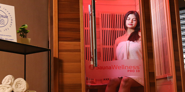 Red Sauna: A Mobile Infrared Sauna is Now Available in Technolux!