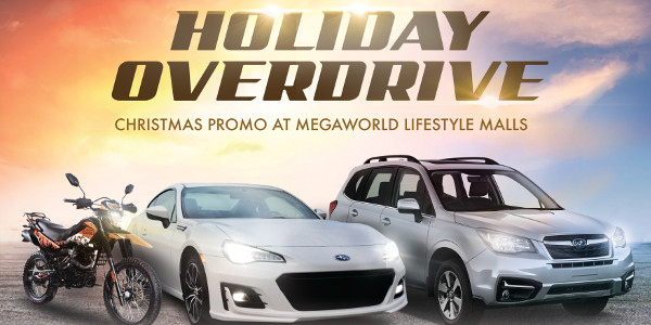 Megaworld Lifestyle Malls' Holiday Overdrive 2019