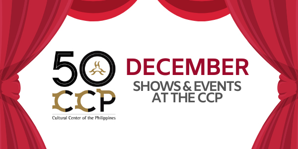 CCP Shows and Events This December: 'Lam-Ang', 'Cinderella', and More!