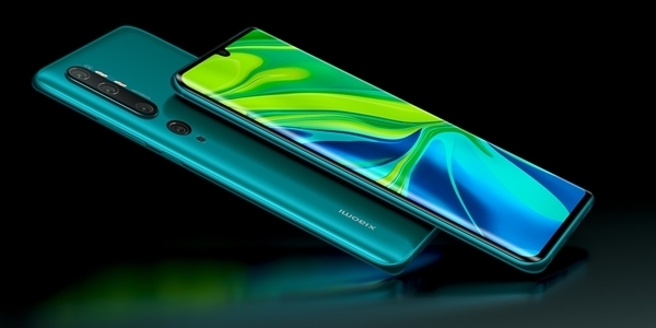 Xiaomi Launches Mi Note 10 with World's First 108MP Penta Camera Setup