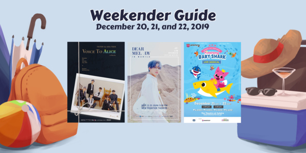 Weekender Guide: December 20, 21, and 22, 2019