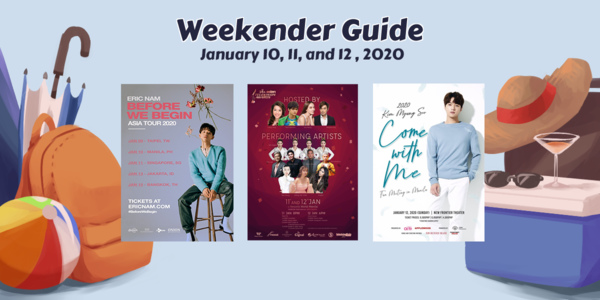 Read more about the article Weekender Guide: January 10, 11, and 12, 2020