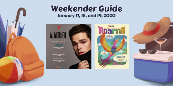 Weekender Guide: January 17, 18, and 19, 2020