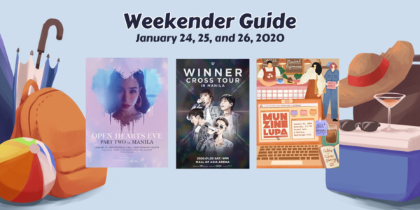 Weekender Guide: January 24, 25, and 26, 2020