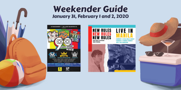 Weekender Guide: January 31, February 1, and 2, 2020