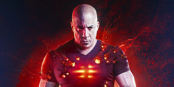 Vin Diesel is Ready to Spill Blood in New 'Bloodshot' Poster