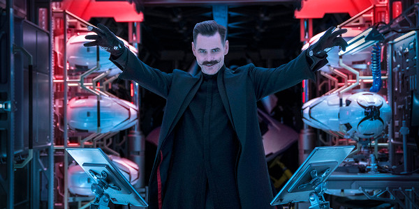 Jim Carrey Plays The Iconic Villain Dr. Robotnik in 'Sonic The Hedgehog'