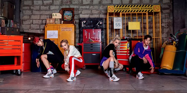 K-Pop Group KARD To Promote the Comeback of ASICS' Classic Gel-1090