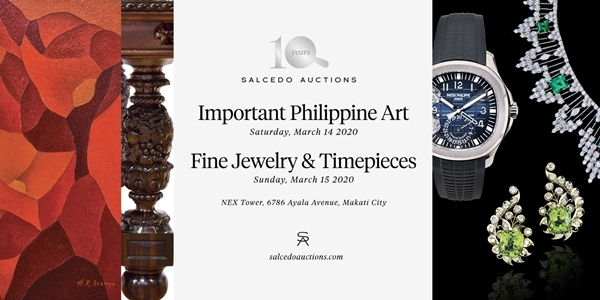 Salcedo Auctions to Bring 'Important Philippine Art' Sale This March