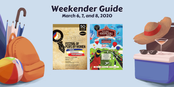 Weekender Guide: March 6, 7, and 8, 2020