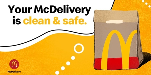 McDonald's Implements No-Touch McDelivery For Cleanliness and Safety