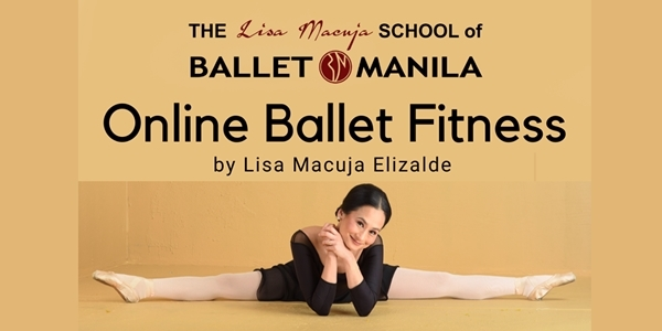 Lisa Macuja-Elizalde to Hold a Free Ballet Fitness Class via FB Live