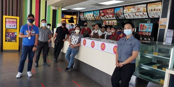 McDonald's Philippines Pledges 50,000 Meals For COVID-19 Frontliners