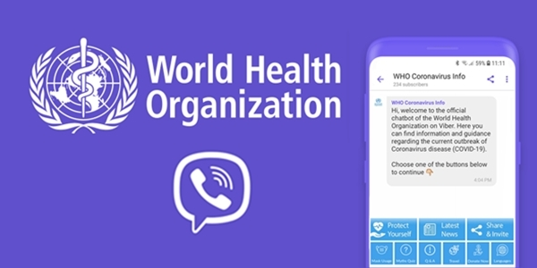 Viber Teams Up with WHO in Fight Against COVID-19