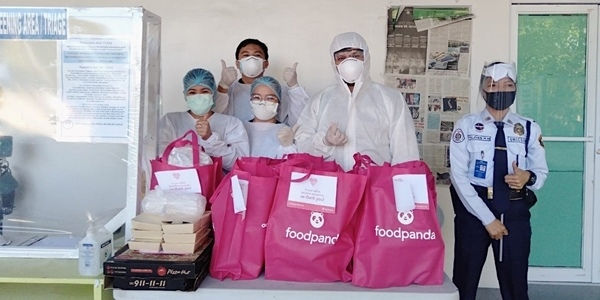 Read more about the article foodpanda Gives Back to Our Heroic Frontliners