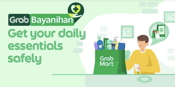 Read more about the article Metro Manila Residents Can Now Grab Their Everyday Essentials Via GrabMart