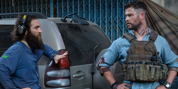 We Talk With Chris Hemsworth and Sam Hargrave About 'Extraction,' Their Action-Packed Netflix Film