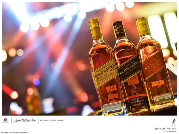Johnnie Walker Launches The Journey at Valkyrie