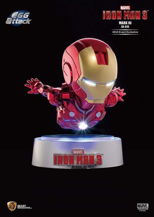 Egg Floating Iron Man 3