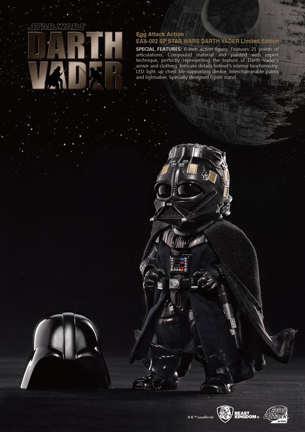 Egg Attack Darth Vader