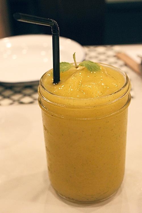 Mango & Mint Shake (P120)