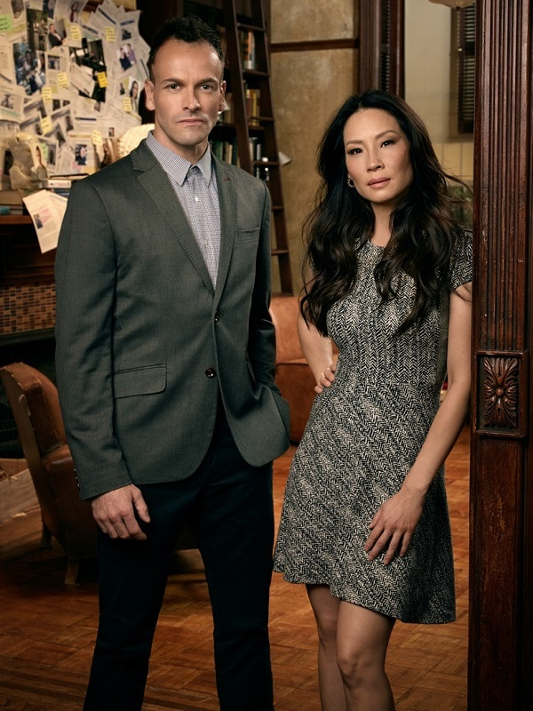 Jonny Lee Miller and Lucy Liu return in Season 4 of Elementary