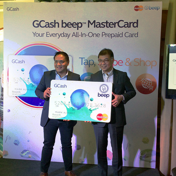 how to get gcash beep mastercard