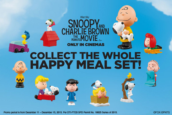 298a30c345 Kids and Peanuts fans of all ages can soon share smiles with Charlie Brown  and the gang with the complete set of 10 Happy Meal toys to pre-order until  ...