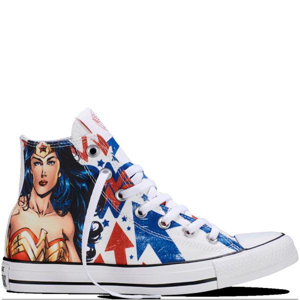 d2dae562bf29 Wonder Woman Sneakers. Converse Chuck Taylor All Star ...