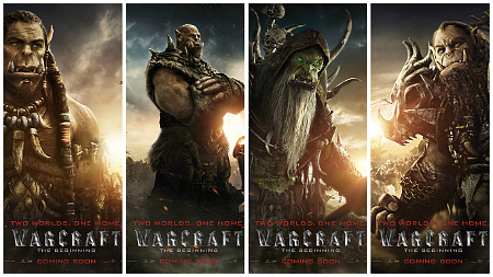 warcraft the beginning unleashes character posters clickthecity