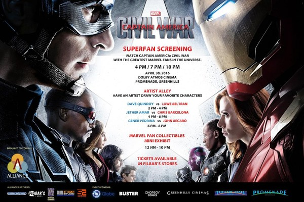 28+ Captain America Civil War Screenings  PNG