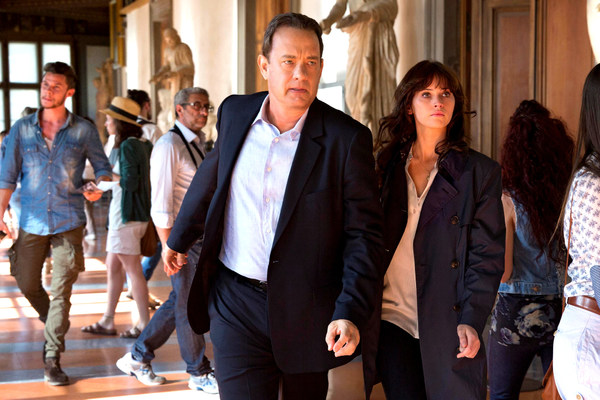 Inferno Tom Hanks and Felicity Jones