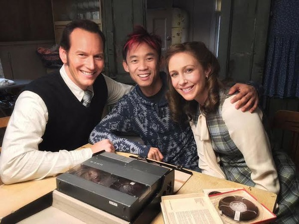 The Conjuring Vera Farmiga and Patrick Wilson