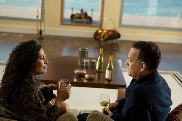 Tom Hanks and Sarita Choudhury
