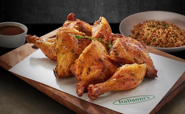 Italianni's Roast Chicken Platter
