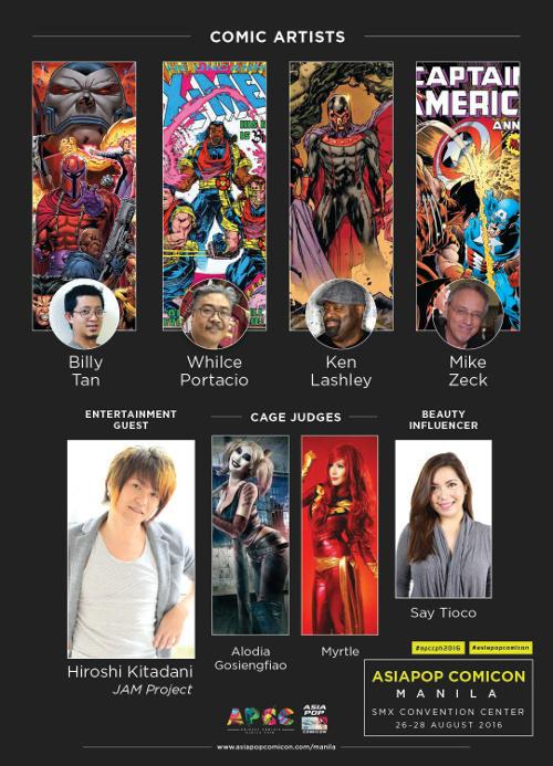 AsiaPOP Comicon Manila 2016