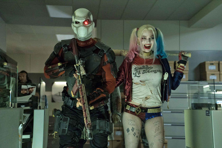 Suicide Squad Wil Smith and Margot Robbie