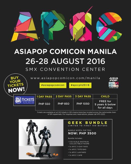 Asia Pop Comicon Manila Millie Brown