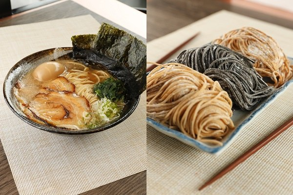 Iekei Ramen and Flavored Noodles