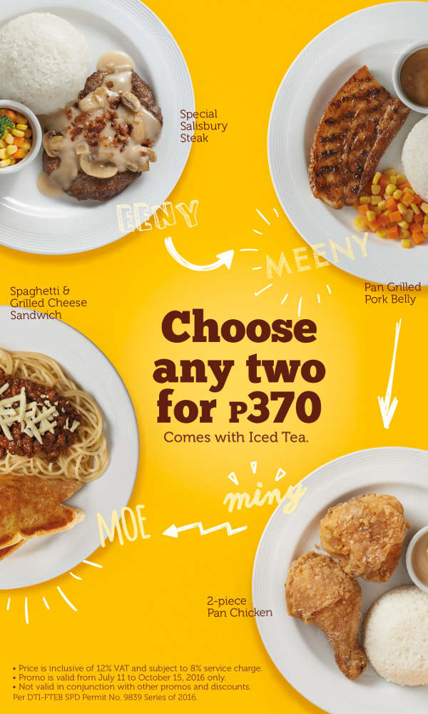 Awesome Pancake House Lets You U0027Choose Any Twou0027 For Only P370