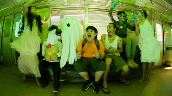 Nickelodeon's Takotown Fright Express takes kids on a spooky ride