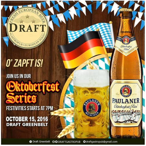 Draft Gastropub celebrates Oktoberfest