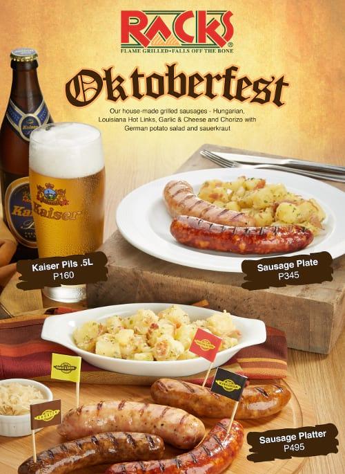 Oktoberfest at Racks