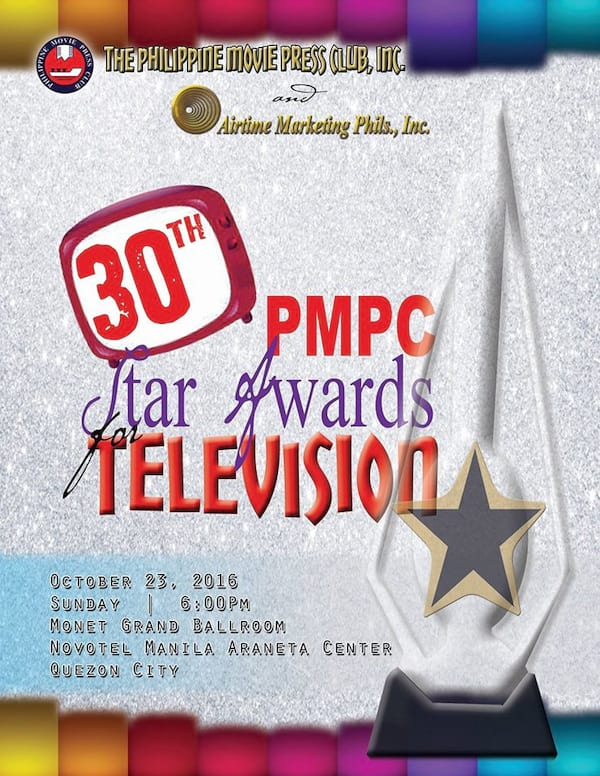 30th PMPC Star Awards